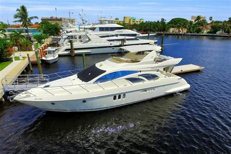 boat financing fort lauderdale 2003 used azimut motor yacht for sale 449 000 fort