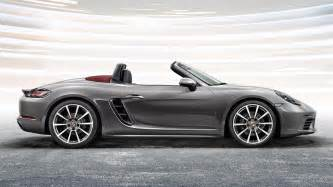 Porsch Boxter 2017 Porsche 718 Boxster Picture 663466 Car Review