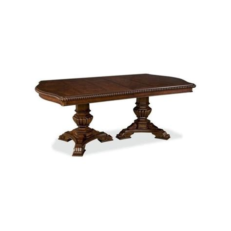 Universal Furniture Dining Table Universal Furniture Villa Cortina Pedestal Dining Table In Villa Cortina 409658 C