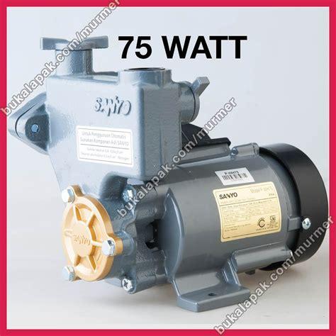 Pompa Air Mini 100 Watt jual pompa air sumur dangkal sanyo 75 watt p wh75 non