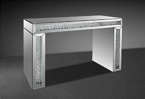 Patio Sofa Set Clearance Modrest Glimmer Transitonal Mirrored Console Table With