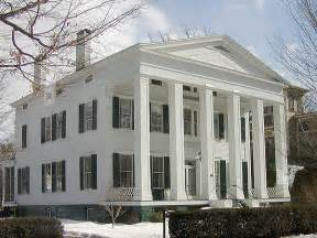 Housing Styles Greek Revival