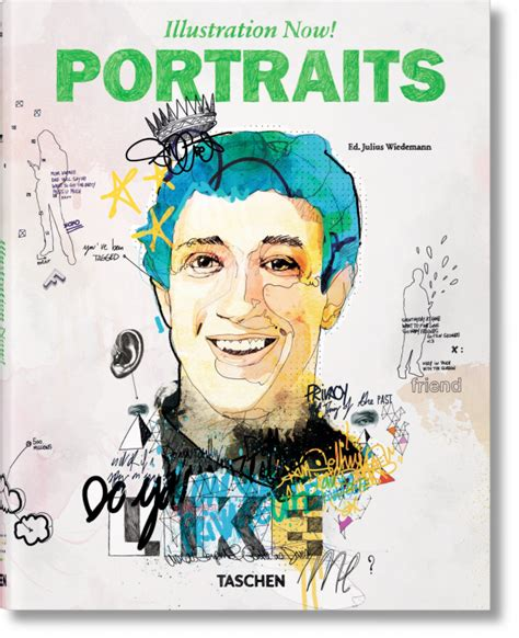 libro illustration now portraits illustration now portraits taschen books midi format