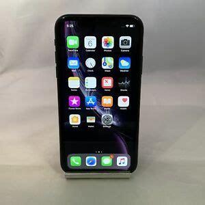 apple iphone xr gb black unlocked mint condition ebay