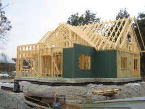 frame house timber framed house