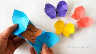 make a rainbow of origami butterflies origami butterfly