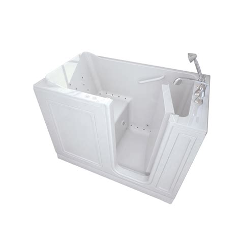 american standard walk in bathtub shop american standard walk in baths walk in bath 50 in l