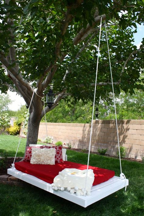 building a tree swing gardens the shade and diy and crafts on pinterest