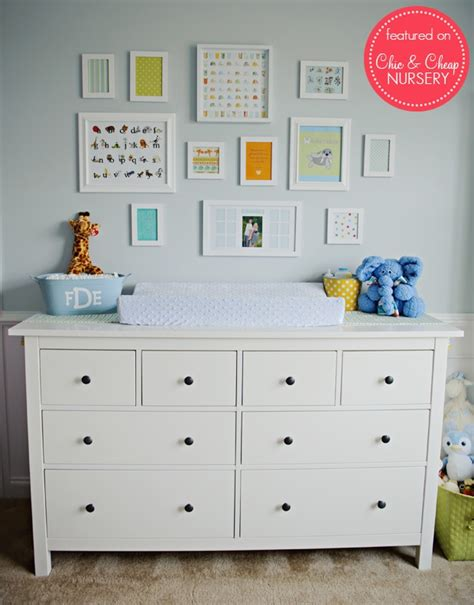 Dresser Changing Table Ikea Pin By Chiccheapnursery On Ikea In The Nursery Pintere