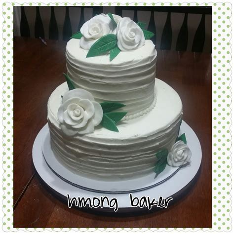 How to make a simple 2 tier wedding cake   Cakes