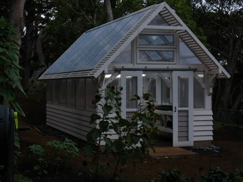 Greenhouse Garage by Woods Greenhouse Craftsman Garage And Shed Hawaii