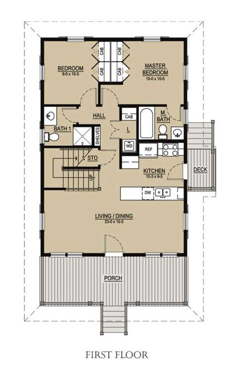 katrina cottage floor plan 536 1 mf floor plan detail