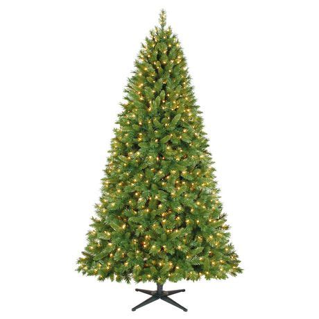 dunken quick set christmas tree time 7 5 kennedy set pine with clear lights tree walmart canada