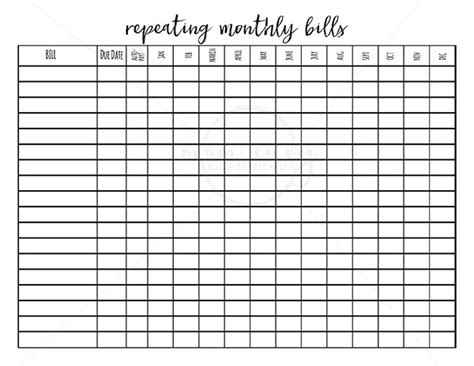 Galerry happy planner free budget printable