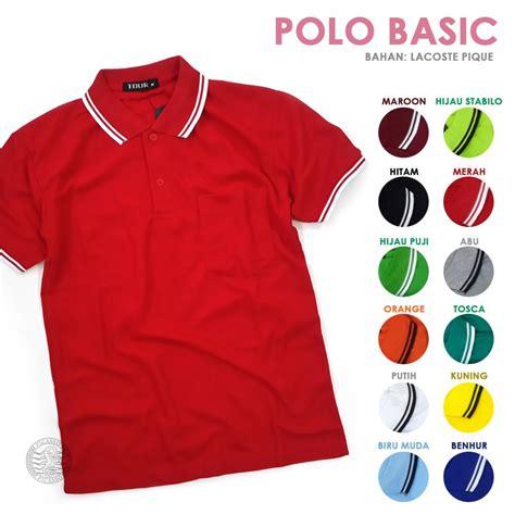 Bestseller Polo Polo Kerah Anak Hijau Fuji Kaos Anak Polo Polos 1 ukuran polo kerah shopee indonesia