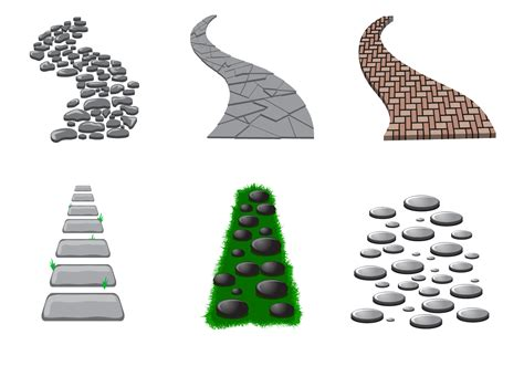 svg pattern path free stone path vector download free vector art stock