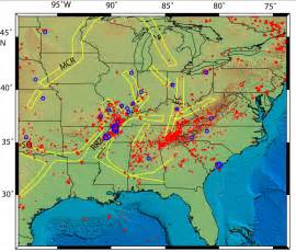 fault lines map new madrid seismic zone space geodesy and earthquake hazard