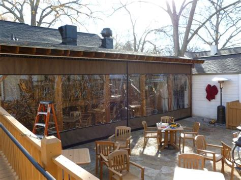 Restaurant Patio Enclosures Plastic by Clear Vinyl Plastic Porch Patio Enclosures For Restaurants