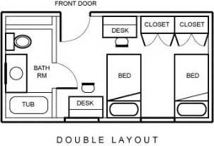 Unique Bedroom Layouts Residence Halls