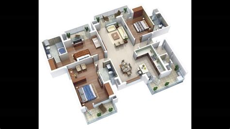 Home Plans 2017 Three Bedroom Houseapartment Floor Plans Ideas Bungalow