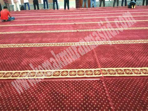 Karpet Meteran Murah Jakarta jual karpet masjid asli ekspor di jakarta kebon al husna