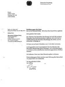 Beschwerdebrief Gegen Nachbarn Schreiben Offener Brief Des Unges 220 Hnten Folteropfers Der Stasi Adam Lauks R 220 Cktrittforderung An Den 11