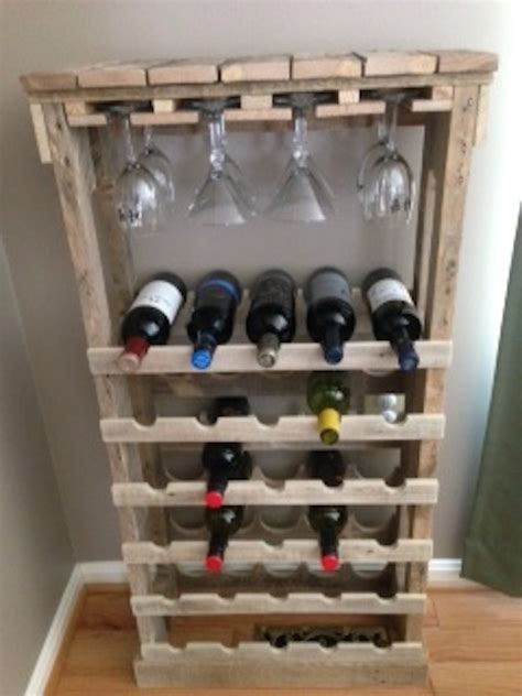 Wine Rack Made From Pallets by Free Standing Pallet Wine Rack By Theinspiredpallet On