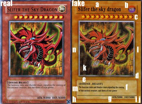 how to make real yugioh cards counterfeit slifer yu gi oh card perishable press