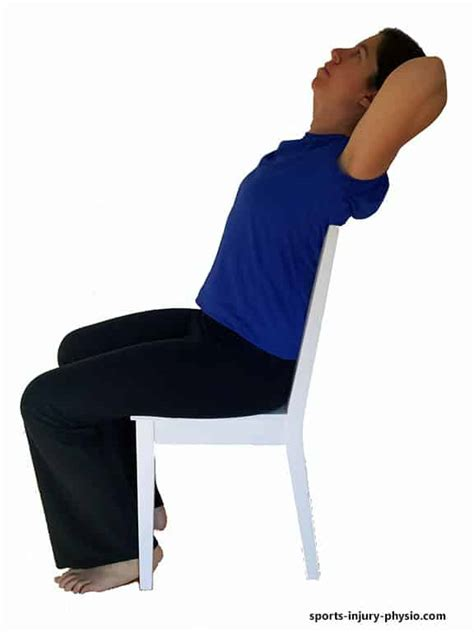 chair back extension muscles neck exercises for neck computer related neck