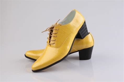 yellow dress shoes cool prom shoes leather groom