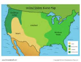 united states biome map tim s printables