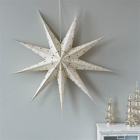 large paper star contemporary christmas ornaments