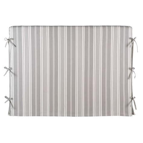 fodera testata letto fodera della testata letto a righe 140 cm