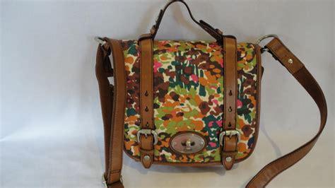 Tas Fossil Crossbody Flower Authentic Original 1 fossil floral maddox organiser crossbody bag handbag new