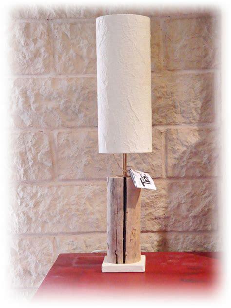 luce da tavolo luce da tavolo bougie con legno di mare per la casa e