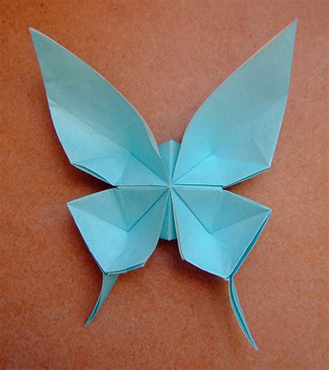 Blue Origami Paper - butterfly blue origami paper 2018