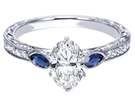engagement rings gallery antique and sapphire
