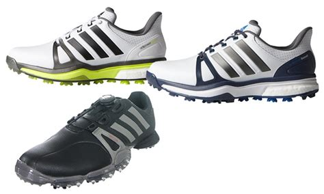 adidas powerband tour boa or adipower boost 2 s golf shoes groupon