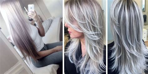 platinum gray ombre hairstyles related keywords suggestions for ombre platinum white hair