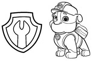 paw patrol coloring sheets images for gt paw patrol coloring pages