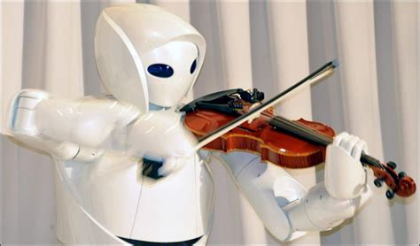 Toyota Robot Meet The Toyota S New Violin Robot Luxuo