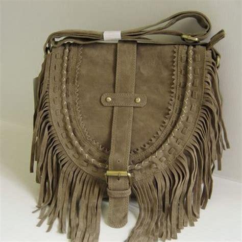 Promo Temurah Boho High Quality Ks bohemian style boho bag tassel designer nubuck