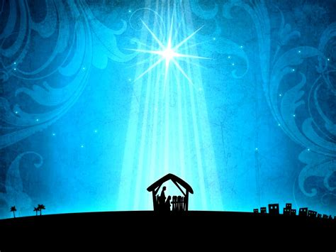 christmas powerpoint templates manger besttemplates123