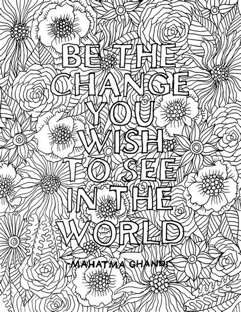 printable coloring quote pages for adults free printable coloring pages for adults quotes