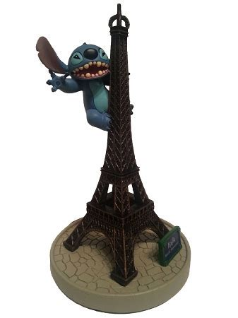 Disney Figurine   Stitch Eiffel Tower