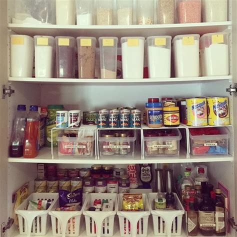 Open Plan Kitchen Ideas 8 Organised Pantries The Organised Housewife