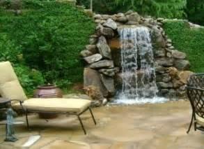 Pavers Backyard Serenity Of Pondless Waterfalls Colorado Springs