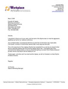Thank You Letter Client For Positive Feedback client letters of recommendation