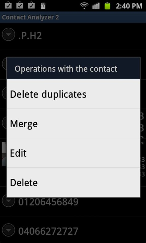 android merge contacts delete duplicate phone contacts along with merging contacts on android android advices