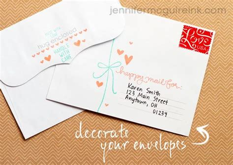 Envelope Decoration Ideas by 17 Best Ideas About Decorated Envelopes On
